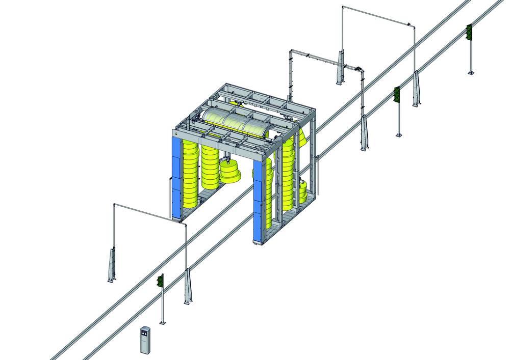 c5400 мойка подвижного состава 4 схема
