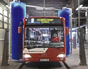Автомоечная установкаChrist С4000 Ecobus