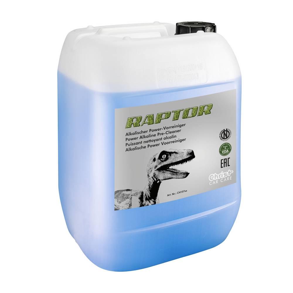 RAPTOR — сильнодействующий щелочной очиститель.