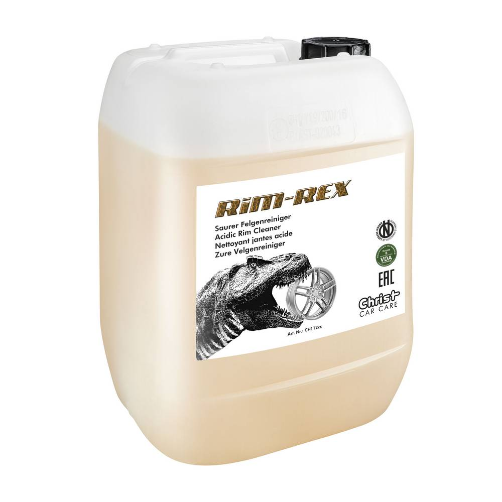 RIM REX — кислотный очиститель колесных дисков.