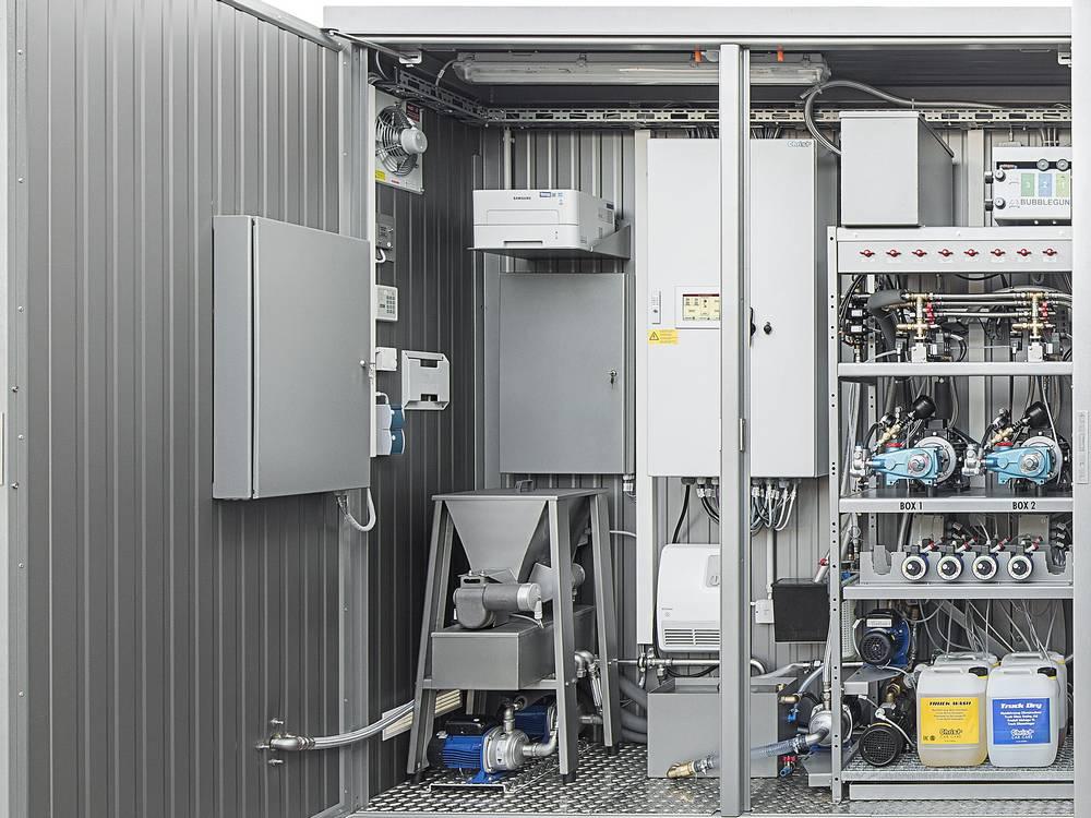 Технический контейнер и оборудование