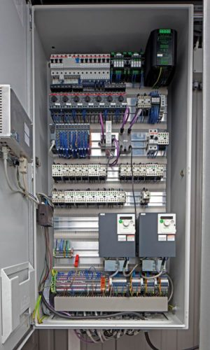 Шкаф электрики и автоматики