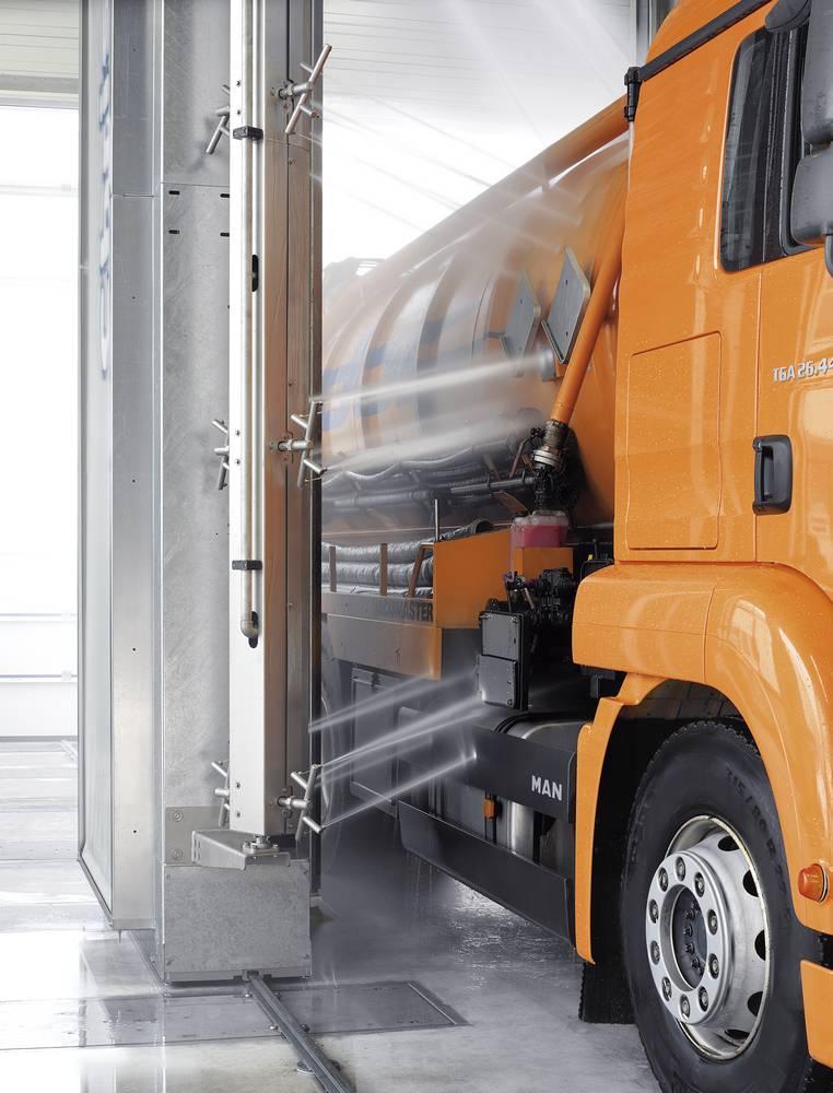 Мойка грузовых автомобилей с дополнительной системой JETSTREAM 3