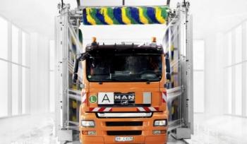 Мойка грузовых автомобилей с дополнительной системой JETSTREAM 2