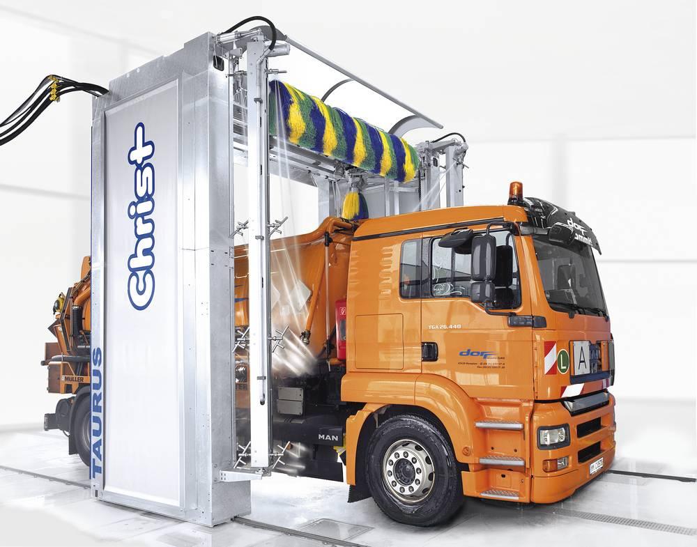 Мойка грузовых автомобилей с дополнительной системой JETSTREAM