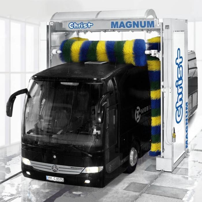 Системы автоматической мойки автобусов