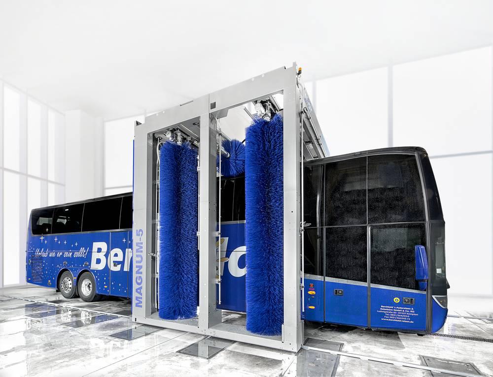 Системы автоматической мойки автобусов 3