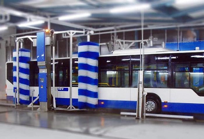 Системы автоматической мойки автобусов 4