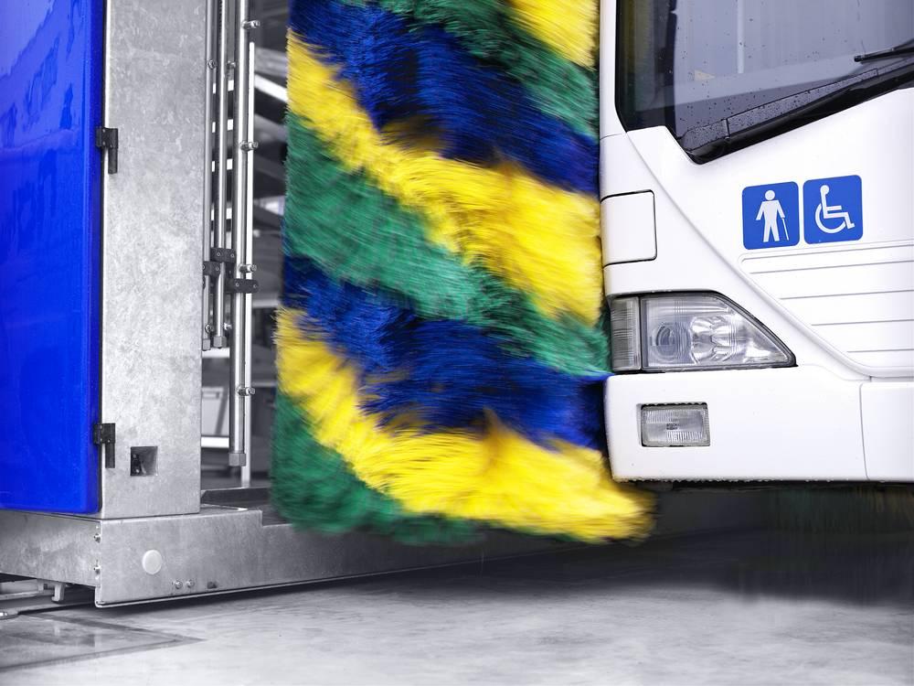 Системы автоматической мойки автобусов 5