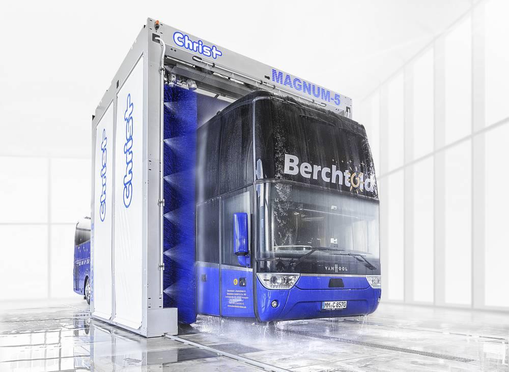 Системы автоматической мойки автобусов 6