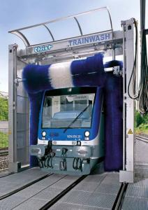 Мойка трамваев и поездов